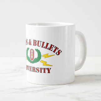 Bombs Bullets University Jumbo Mugs