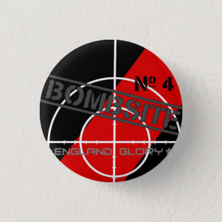 Bombsite issue 4 Book Project 3 Cm Round Badge