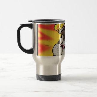 Bombunny Panics!! Travel Mug