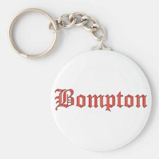 Bompton red key ring