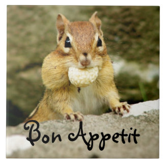 Bon Appetit Chipmunk Trivet