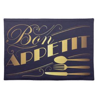 Bon appetit design placemat