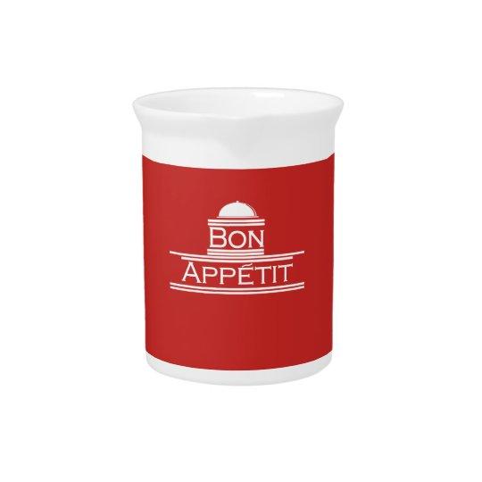 Bon Appetit-Enjoy Your Meal Beverage Pitcher