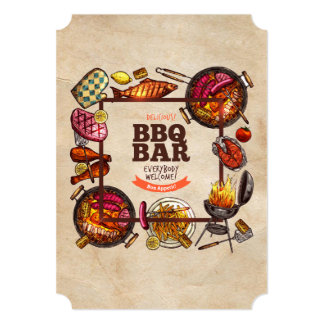 Bon Appetit! Father's Day Party Invitations