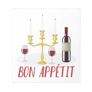 Bon Appetit Notepads