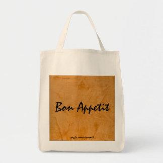 Bon Appetit Tuscan Orange Grocery Bag