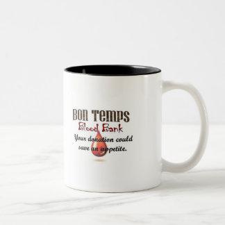 Bon Temps Blood Bank Two-Tone Coffee Mug