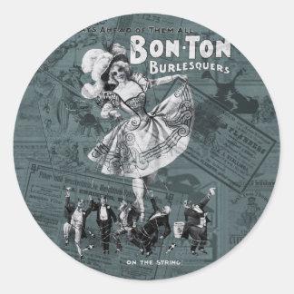 Bon-ton Classic Round Sticker