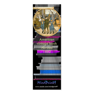Bon Voyage Double-Sided Mini Business Cards (Pack Of 20)