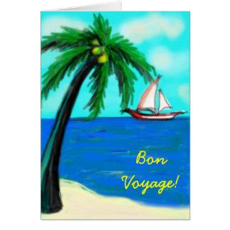 Bon Voyage - card