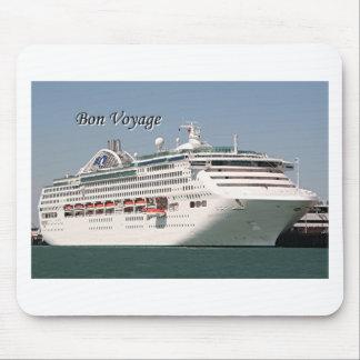 Bon Voyage cruise ship 2 Mouse Pads