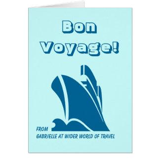 Bon Voyage from Custom Card Teal