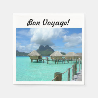 Bon Voyage Napkins Disposable Napkins