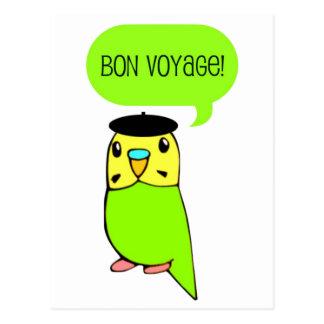 Bon Voyage! Postcard