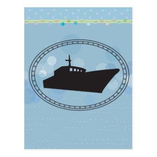 Bon Voyage Postcard