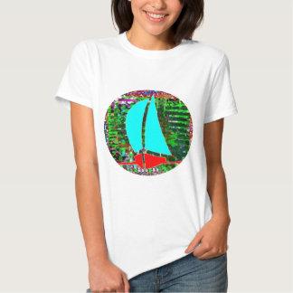 Bon Voyage Sail T-shirts