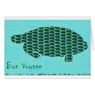 Bon Voyage Turtles Card
