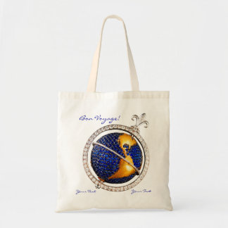 Bon Voyage World Map Costume Jewelry Add Your Text Bags