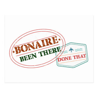 Bonaire Been There Done That Postcard