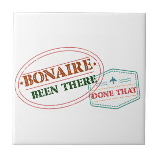 Bonaire Been There Done That Tile