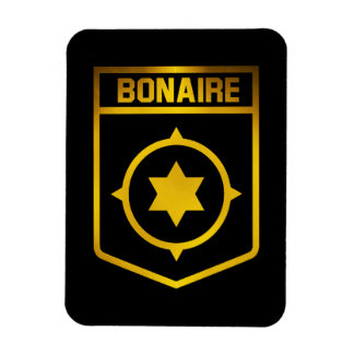 Bonaire Emblem Rectangular Photo Magnet