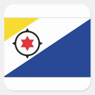 Bonaire Flag Square Sticker