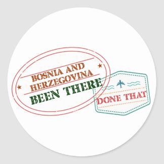 """""""Bonaire girls"""""""" Been There Done That """"""""countrie Classic Round Sticker"""