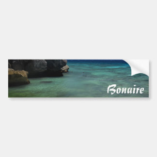 Bonaire Ocean Car Bumper Sticker