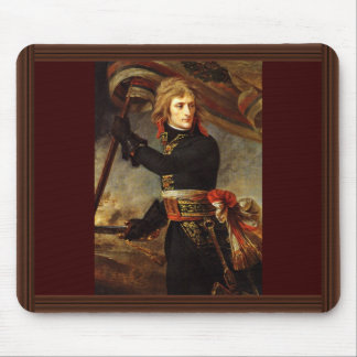 Bonaparte At The Bridge Of Arcola By Gros, Antoine Mouse Pad