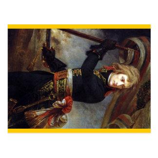 Bonaparte at the Pont d'Arcole ca.1801 Postcard