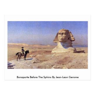 Bonaparte Before The Sphinx By Jean-Leon Gerome Postcard