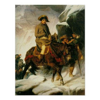 Bonaparte Crossing the Alps Poster
