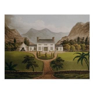 Bonaparte's Mal-Maison at St. Helena, 1821 Postcard