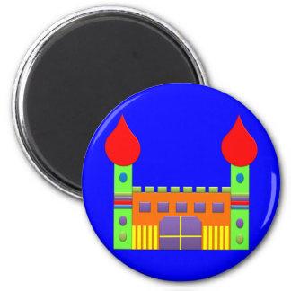 Bonbon Fantasy Magic Castell Fridge Magnet
