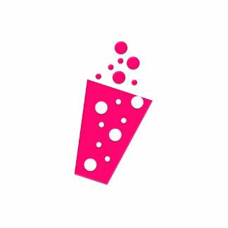 BonBon Party Groove Party Drink Violet Standing Photo Sculpture