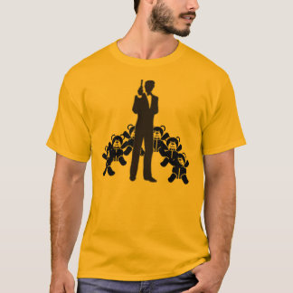 bond and teddy bears 2 T-Shirt