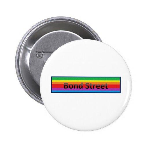 Bond Street Style 2 Pinback Buttons