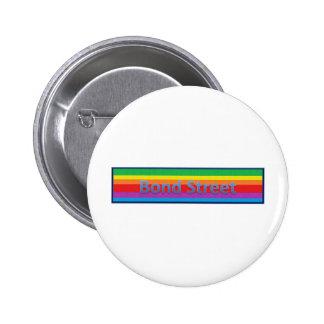 Bond Street Style 3 Pinback Button
