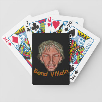 Bond Villain Bicycle Playing Cards