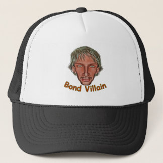 Bond Villain Trucker Hat