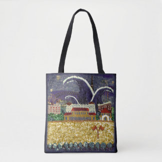 Bondi Beach Art Bag by Sequin Dreams Studio