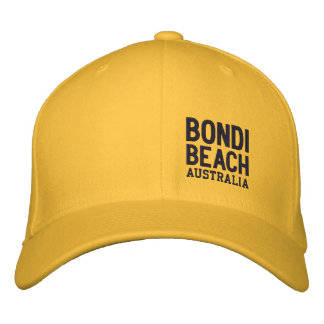 BONDI BEACH AUSTRALIA - Embroidered Baseball Cap