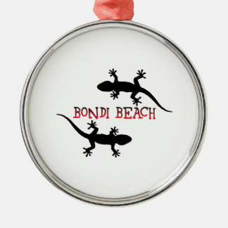 Bondi Beach Australia Metal Ornament