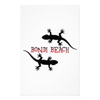 Bondi Beach Australia Stationery