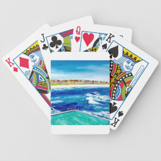 Bondi Beach Icebergs Bicycle Playing Cards