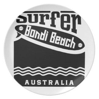 Bondi Beach Plate