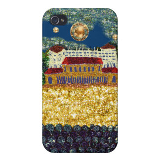 Bondi Beach Sequin Art Print iPhone 4 Cover