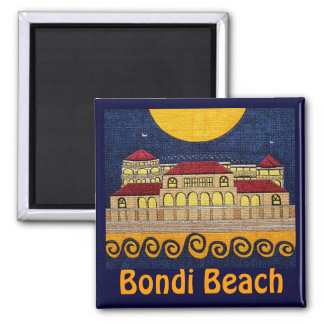 Bondi Beach Square Magnet
