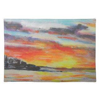Bondi Beach Sunset Placemat