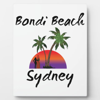 bondi beach sydney display plaque